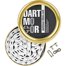 "DARTMOOR Core Bicycle Chain 1/8"" white"